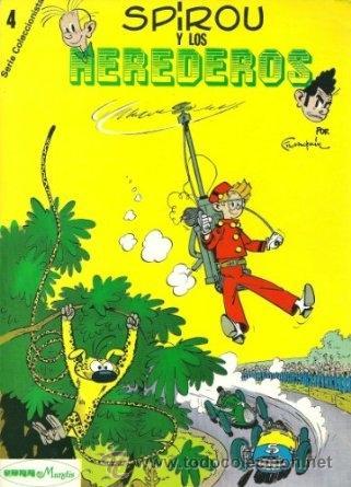 SPIROU. LOS 4 NÚMEROS DE LA SERIE COLECCIONISTAS !! 1980 28,5 X 20 CM. A COLOR! RAREZA!! (Tebeos y Comics - Grijalbo - Spirou)