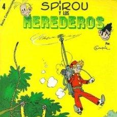 Cómics: SPIROU. LOS 4 NÚMEROS DE LA SERIE COLECCIONISTAS !! 1980 28,5 X 20 CM. A COLOR! RAREZA!!. Lote 39945121