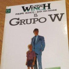 Cómics: EL GRUPO W Nº2 PHILIPPE FRANCQ. JEAN VAN HAMME EDITORIAL JUNIOR S.A. AÑO 1992. Lote 39953525