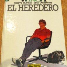 Cómics: EL HEREDERO Nº1 PHILIPPE FRANCQ. JEAN VAN HAMME EDITORIAL JUNIOR S.A. AÑO 1992. Lote 39953741