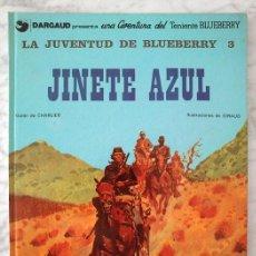 Cómics: LA JUVENTUD DE BLUEBERRY - Nº 3 - JINETE AZUL - GRIJALBO/DARGAUD - 1982. Lote 39977126