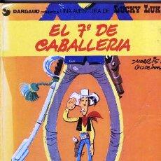 Cómics: LUCKY LUKE Nº 7. EL 7º DE CABALLERÍA. TAPAS DURAS.. Lote 39985984