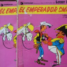 Cómics: LUCKY LUKE 2 TEBEOS:TAPA DURA Y TAPA BLANDA.. Lote 39996630