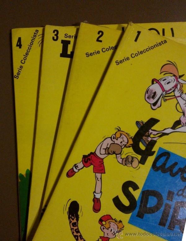 Cómics: Spirou. Los 4 números de la SERIE COLECCIONISTAS !! 1980 28,5 x 20 cm. A color! Rareza!! - Foto 2 - 39945121