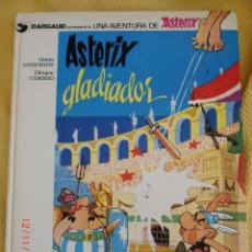 Cómics: ASTERIX Nº 4 ASTERIX GLADIADOR EDICIONES GRIJALBO TAPA DURA . Lote 40017811