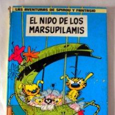 Cómics: LAS AVENTURAS DE SPIROU Y FANTASIO Nº 10 * EL NIDO DE LOS MARSUPILAMIS * AÑO 1982 JUNIOR. Lote 40062848