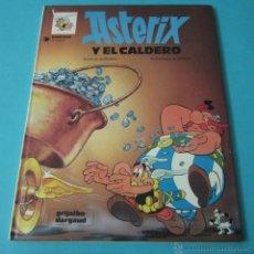 Cómics: ASTERIX Y EL CALDERO. GUIÓN DE GOSCINNY. ILUSTRACIONES DE UDERZO. Lote 40063335