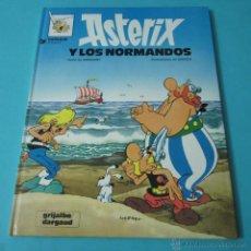 Cómics: ASTERIX Y LOS NORMANDOS. GUIÓN DE GOSCINNY. ILUSTRACIONES DE UDERZO. Lote 40063401