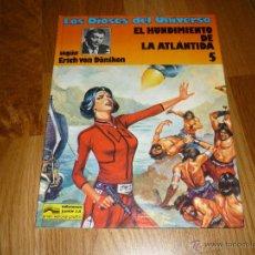 Cómics: LOS DIOSES DEL UNIVERSO 5 EL HUNDIMIENTO DE LA ATLANTIDA ERICH VON DANIKEN GRIJALBO 1981 TAPA DURA. Lote 40046861