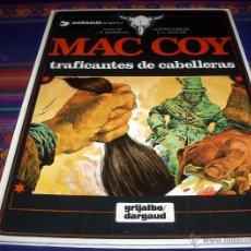 Cómics: MAC COY Nº 7 TRAFICANTES DE CABELLERAS. GRIJALBO 1980.. Lote 40119347