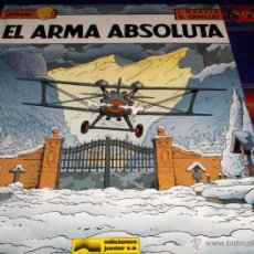 Cómics: LEFRANC Nº 8 EL ARMA ABSOLUTA. GRIJALBO 1988. MUY BUEN ESTADO Y DIFÍCIL!!!!!. Lote 40124981