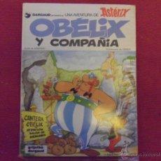 Cómics: OBELIX Y COMPAÑIA - EDICION DE 1983 - EN TAPAS DURAS. Lote 40358454