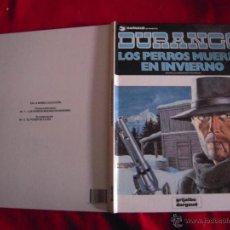 Cómics: LOS PERROS MUEREN EN INVIERNO - DURANGO1 - YVES SWOLFS - CARTONE. Lote 40564669