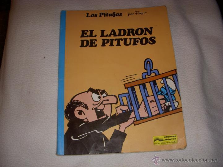 LOS PITUFOS Nº 10, TAPA BLANDA, EDITORIAL GRIJALBO (Tebeos y Comics - Grijalbo - Otros)