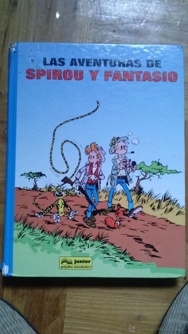 LAS AVENTURAS DE SPIROU Y FANTASIO. TOMO 2 - 240 PAG. (Tebeos y Comics - Grijalbo - Spirou)