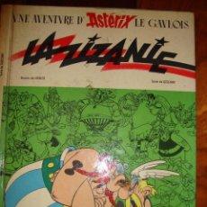 Cómics: LOTE 2 X COMICS ASTERIX ANTIGUOS EN FRANCES. AÑOS 60 Y 70. Lote 40730601