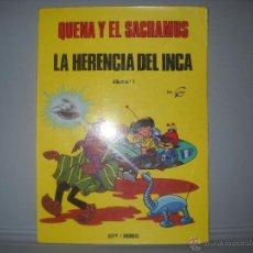Cómics: QUENA Y EL SACRAMUS Nº1,LA HERENCIA DEL INCA/SEPP/MUNDIS 1979,DIBUJOS GOS. Lote 41141179