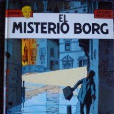 Cómics: LEFRANC Nº 3. EL MISTERIO BORG. JACQUES MARTIN. EDICIONES JUNIOR. EDIT. GRIJALBO. ESPAÑA 1986. . Lote 41182535
