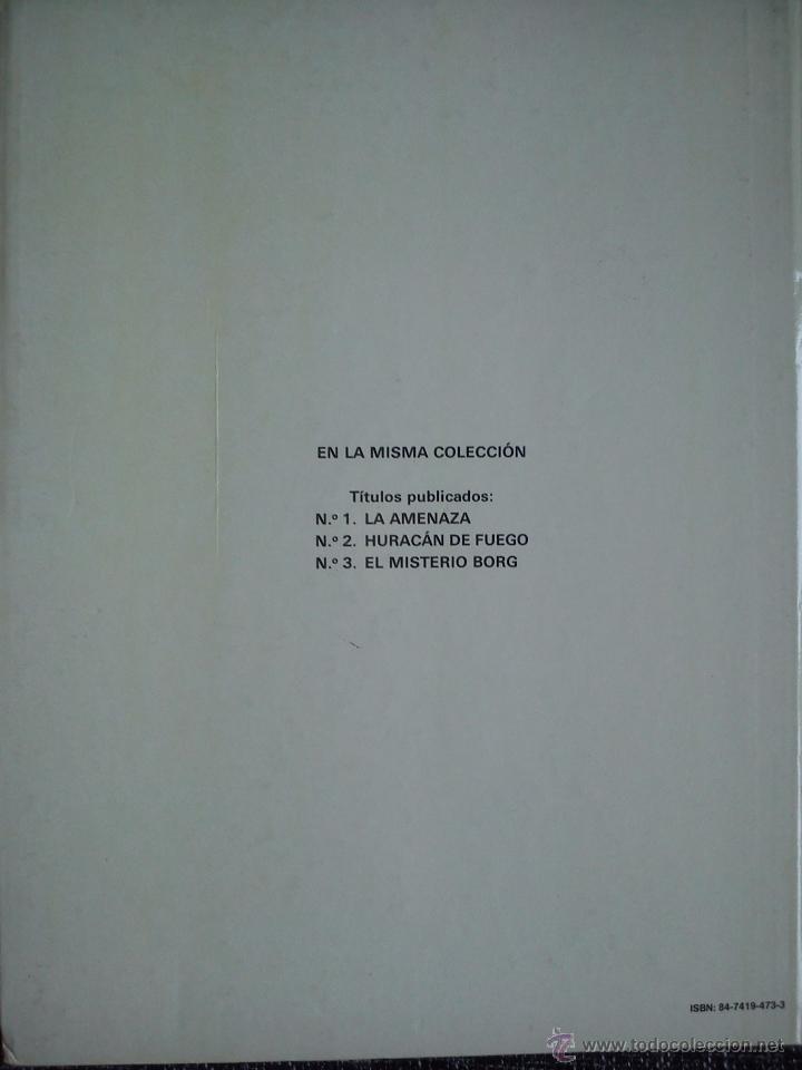 Cómics: LEFRANC Nº 3. EL MISTERIO BORG. JACQUES MARTIN. EDICIONES JUNIOR. EDIT. GRIJALBO. ESPAÑA 1986. - Foto 2 - 41182535