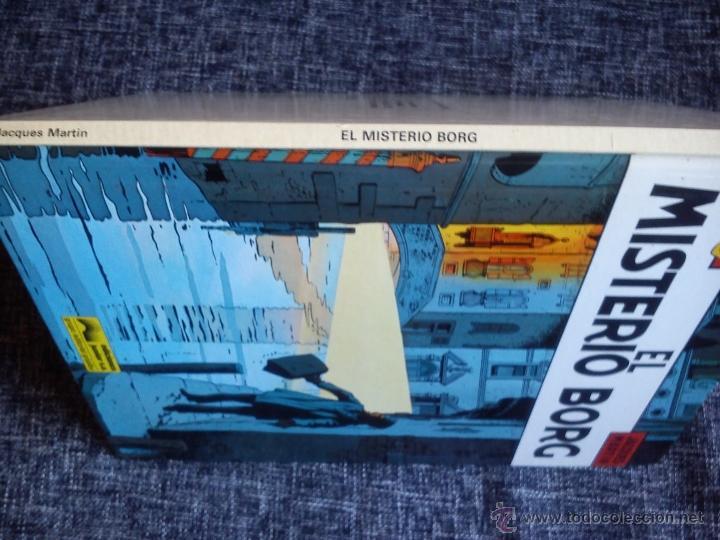 Cómics: LEFRANC Nº 3. EL MISTERIO BORG. JACQUES MARTIN. EDICIONES JUNIOR. EDIT. GRIJALBO. ESPAÑA 1986. - Foto 3 - 41182535