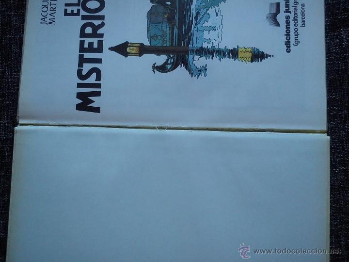 Cómics: LEFRANC Nº 3. EL MISTERIO BORG. JACQUES MARTIN. EDICIONES JUNIOR. EDIT. GRIJALBO. ESPAÑA 1986. - Foto 5 - 41182535