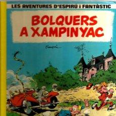 Comics : COMIC LES AVENTURES D´ESPIRU I FANTASTIC : BOLQUERS A XAMPINYAC. Lote 215588395
