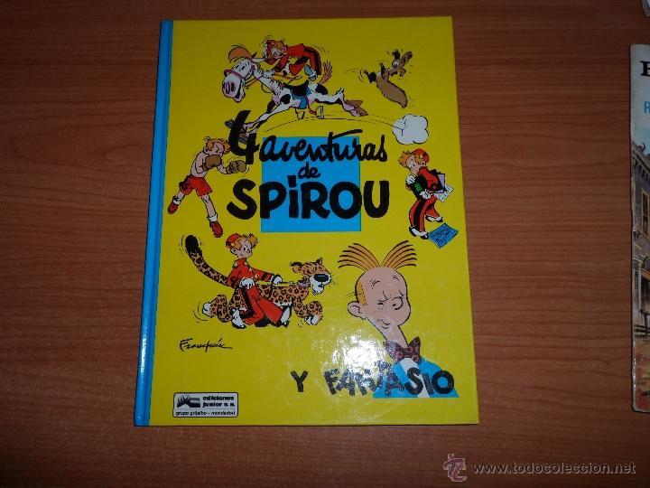 LAS AVENTURAS DE SPIROU Y FANTASIO Nº 30 EDICIONES JUNIOR GRIJALBO (Tebeos y Comics - Grijalbo - Spirou)