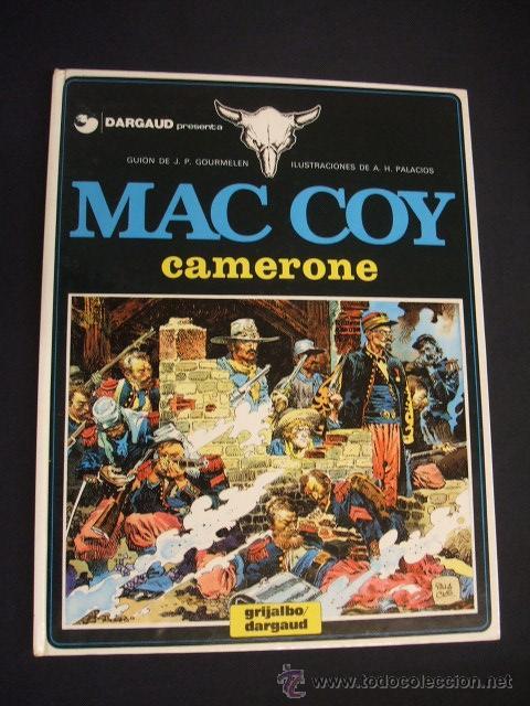 MAC COY - Nº 11 - CAMERONE - GRIJALBO - (Tebeos y Comics - Grijalbo - Mac Coy)