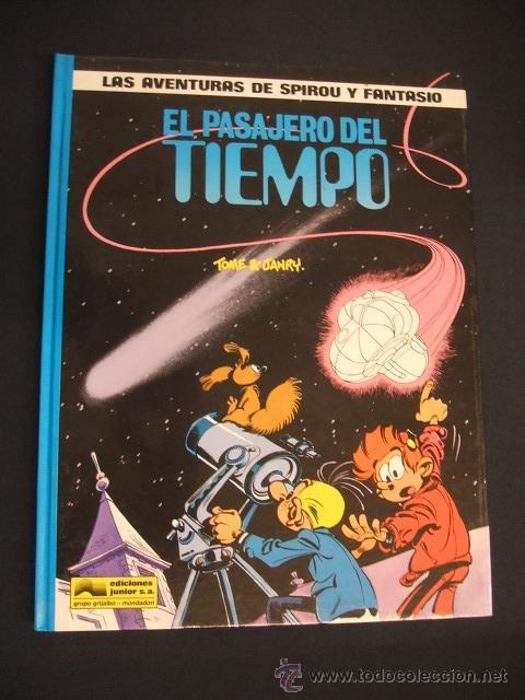 LAS AVENTURAS DE SPIROU Y FANTASIO - Nº 22 - EL PASAJERO DEL TIEMPO - GRIJALBO - (Tebeos y Comics - Grijalbo - Spirou)