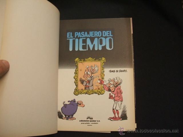 Cómics: LAS AVENTURAS DE SPIROU Y FANTASIO - Nº 22 - EL PASAJERO DEL TIEMPO - GRIJALBO - - Foto 2 - 41414459