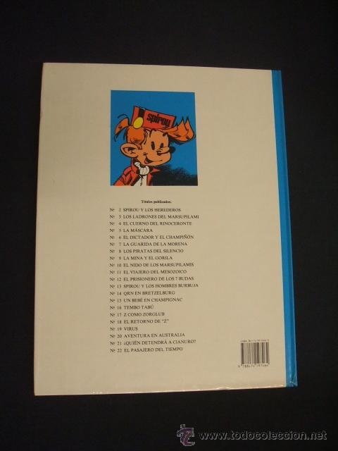 Cómics: LAS AVENTURAS DE SPIROU Y FANTASIO - Nº 22 - EL PASAJERO DEL TIEMPO - GRIJALBO - - Foto 5 - 41414459