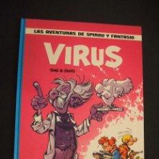 Cómics: LAS AVENTURAS DE SPIROU Y FANTASIO - Nº 19 - VIRUS - GRIJALBO -. Lote 41414720