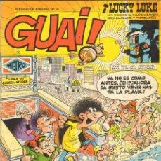 Cómics: TEBEOS-COMICS CANDY - GUAI - Nº 14 - EDICIONES JUNIOR - 1986 - *AA99. Lote 41527876