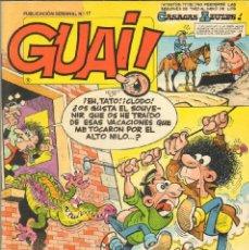 Cómics: TEBEOS-COMICS CANDY - GUAI - Nº 17 - EDICIONES JUNIOR - 1986 - *AA99. Lote 41527887