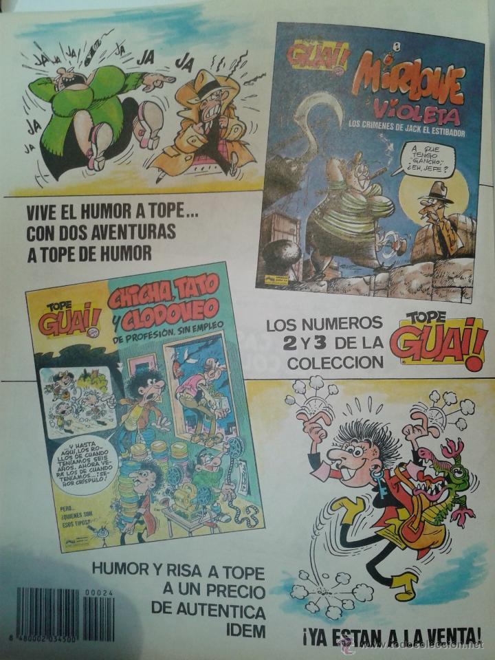 Cómics: TOMO DE LA REVISTA SEMANAL GUAI DEL Nº 12-13-14-15-16-17-19-20-21-22-23-24- EDICIONES JUNIOR - Foto 8 - 41605036