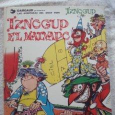Cómics: # IZNOGUD TOMO 5 - IZNOGOUD EL MALVADO. GOSCINNY Y TABARY GRIJALBO/DARGAUD. 1 EDICION. 1981. Lote 41716446