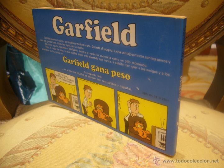 Cómics: GARFIELD Nº 2. GARFIELD GANA PESO, DE JIM DAVIS. - Foto 2 - 257641625