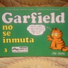 Cómics: GARFIELD Nº 3. GARFIELD NO SE INMUTA, DE JIM DAVIS.. Lote 257641850