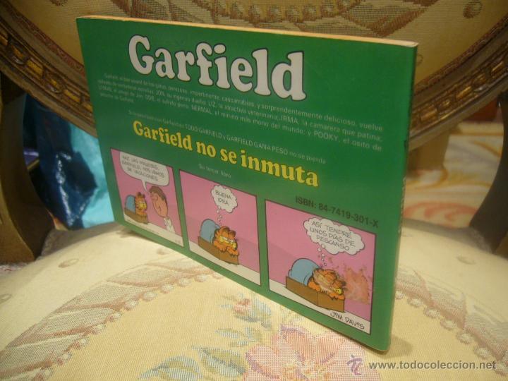 Cómics: GARFIELD Nº 3. GARFIELD NO SE INMUTA, DE JIM DAVIS. - Foto 2 - 257641850