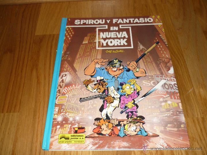 SPIROU EN NUEVA YORK TOME Y JANRY - GRIJALBO AÑO 1987 BUEN ESTADO (Tebeos y Comics - Grijalbo - Spirou)