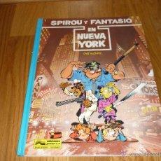 Cómics: SPIROU EN NUEVA YORK TOME Y JANRY - GRIJALBO AÑO 1987 BUEN ESTADO. Lote 42357762