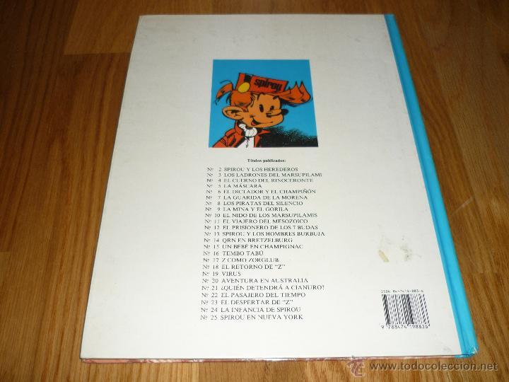 Cómics: SPIROU EN NUEVA YORK TOME Y JANRY - GRIJALBO AÑO 1987 BUEN ESTADO - Foto 5 - 42357762