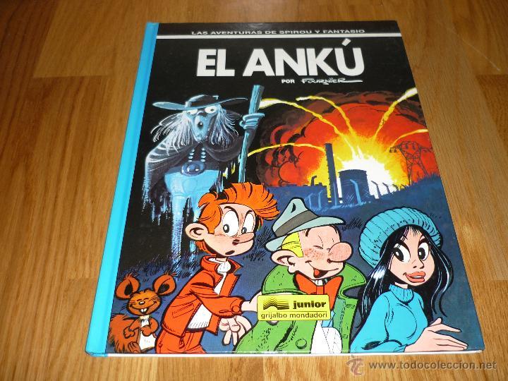 SPIROU Y FANTASIO Nº 39 EL ANKÚ. GRIJALBO 1995. BUEN ESTADO Y MUY DIFÍCIL!!!!! B.E. (Tebeos y Comics - Grijalbo - Spirou)