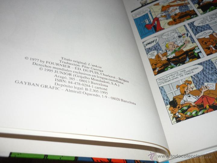 Cómics: SPIROU Y FANTASIO Nº 39 EL ANKÚ. GRIJALBO 1995. BUEN ESTADO Y MUY DIFÍCIL!!!!! B.E. - Foto 2 - 42357990