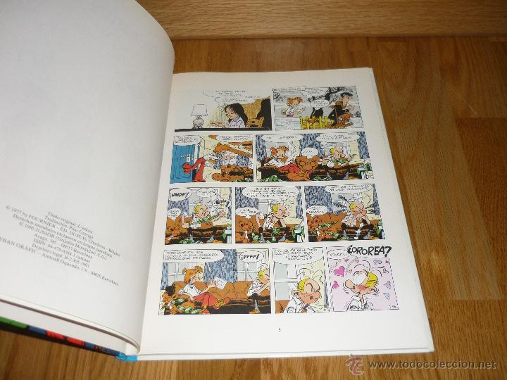 Cómics: SPIROU Y FANTASIO Nº 39 EL ANKÚ. GRIJALBO 1995. BUEN ESTADO Y MUY DIFÍCIL!!!!! B.E. - Foto 3 - 42357990
