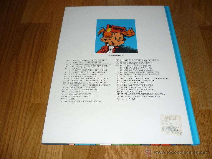 Cómics: SPIROU Y FANTASIO Nº 39 EL ANKÚ. GRIJALBO 1995. BUEN ESTADO Y MUY DIFÍCIL!!!!! B.E. - Foto 6 - 42357990