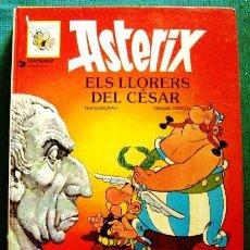 Cómics: COMIC ASTERIX EN CATALAN TAPA DURA ELS LLORERS DEL CESAR NUMERO 18. Lote 42570109