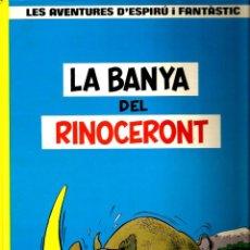 Cómics: LES AVENTURES D´ESPIRU I FANTASTIC : LA BANYA DEL RINOCERONT . Lote 42579099