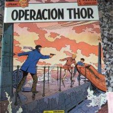 Fumetti: LEFRANC N.º 6 OPERACION THOR J. MARTIN G. CHAILLET ED. JUNIOR 1.987 PASTA DURA. Lote 42639604