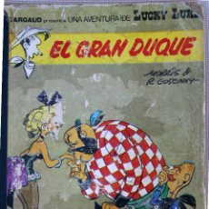 Cómics: LUCKY LUKE EL GRAN DUQUE EDICIONES JUNIOR 1977. Lote 42695266